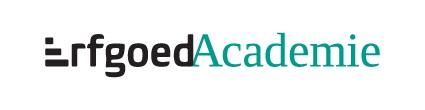 ErfgoedAcademie Logo